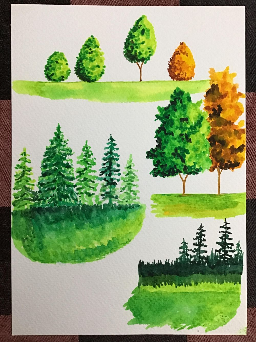 Amazing start to watercolour landscapes! - image 3 - student project