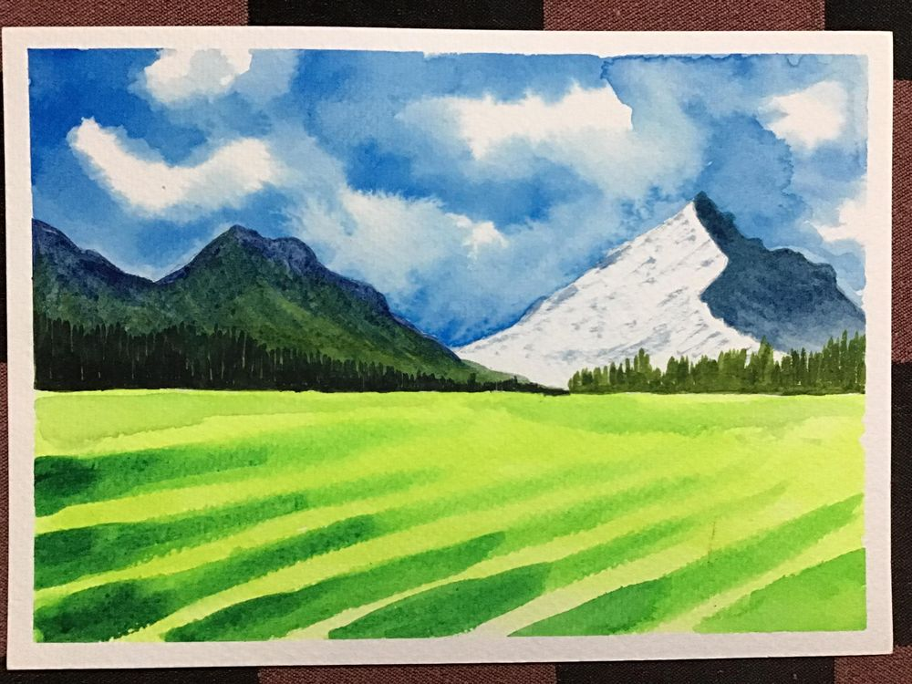 Amazing start to watercolour landscapes! - image 7 - student project