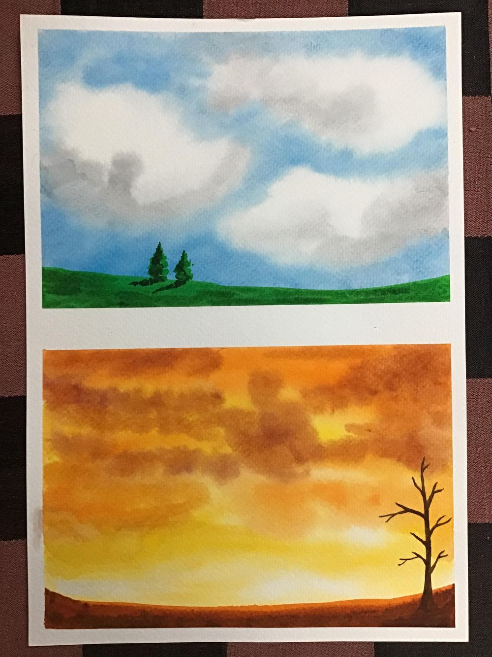 Amazing start to watercolour landscapes! - image 2 - student project