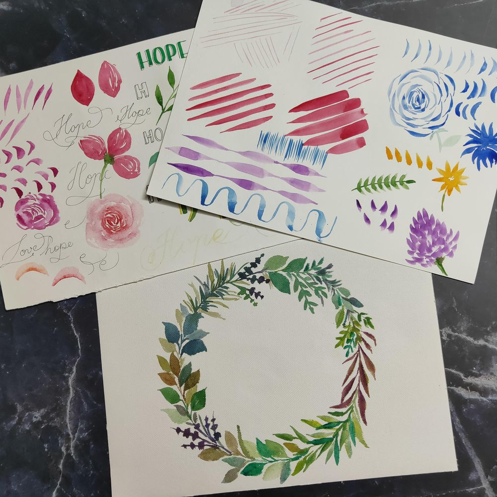 Loose Floral Joy! - image 1 - student project