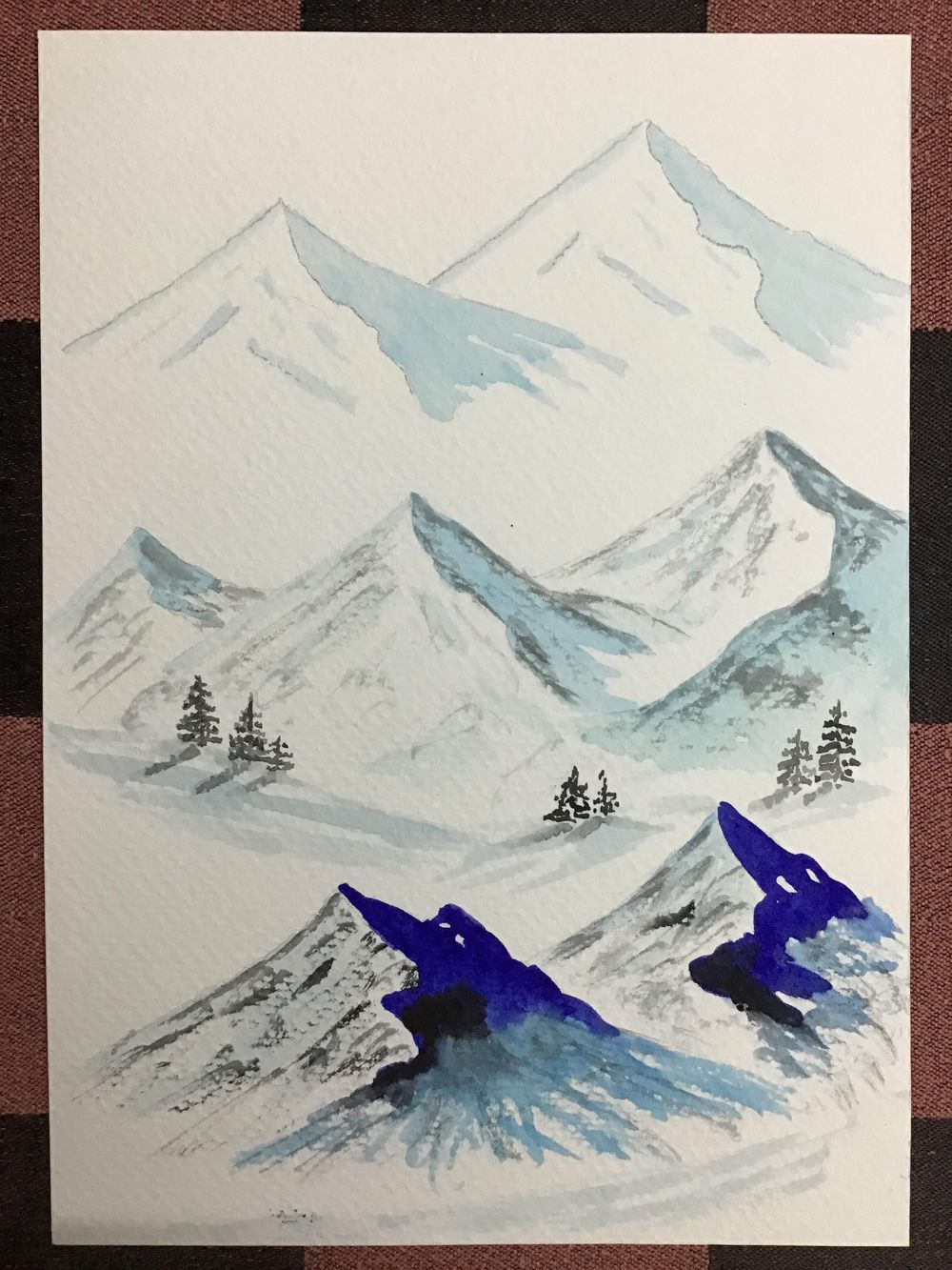 Amazing start to watercolour landscapes! - image 5 - student project
