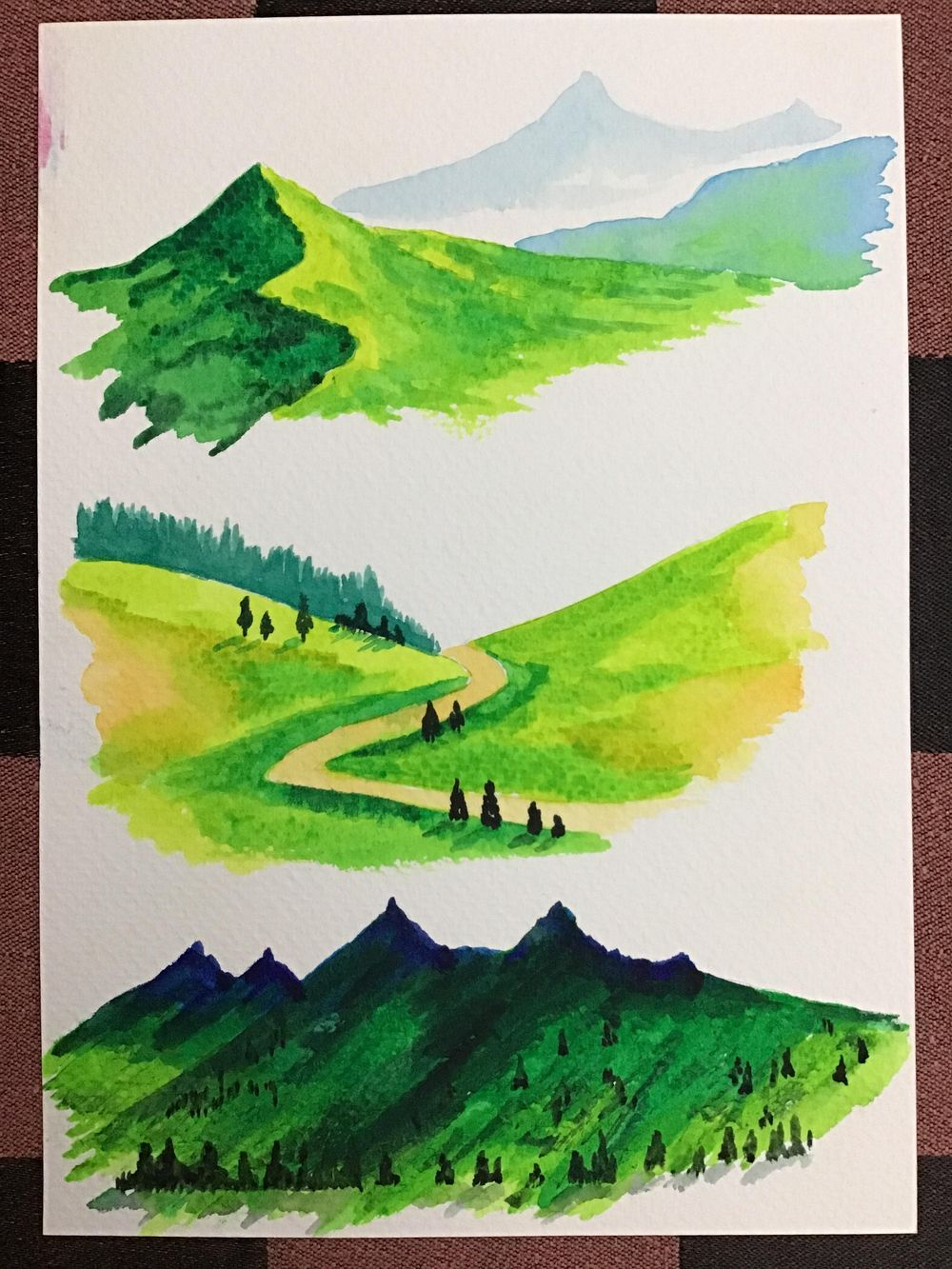 Amazing start to watercolour landscapes! - image 4 - student project