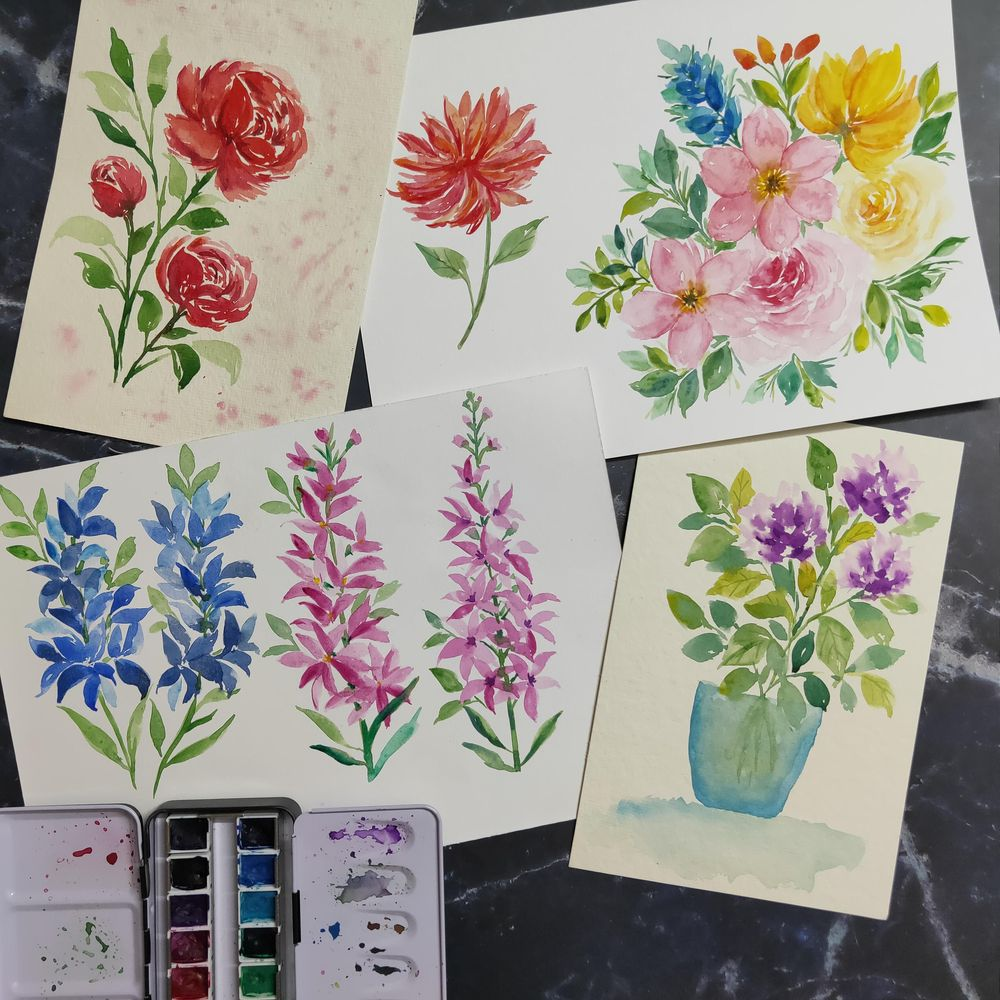 Loose Floral Joy! - image 2 - student project