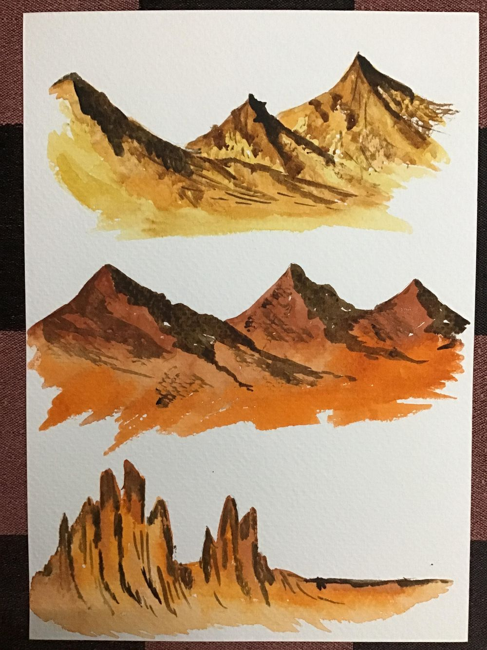 Amazing start to watercolour landscapes! - image 6 - student project