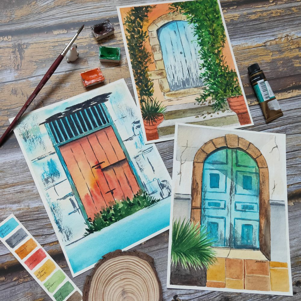 Rustic Doors! - image 4 - student project
