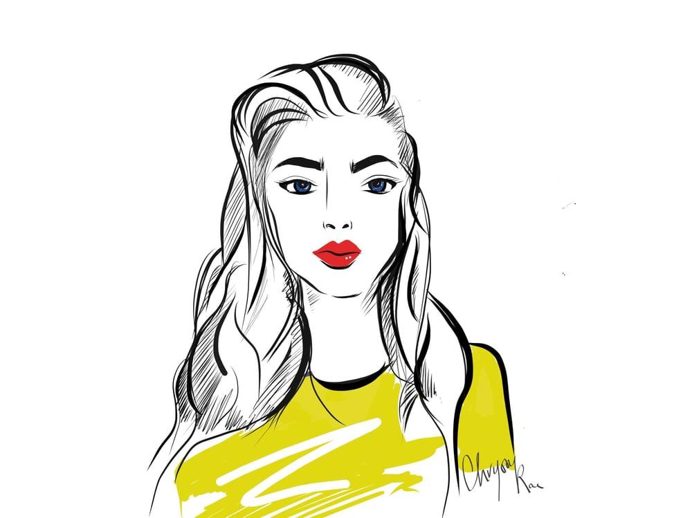 Fashion Minimal Illustration - image 2 - student project