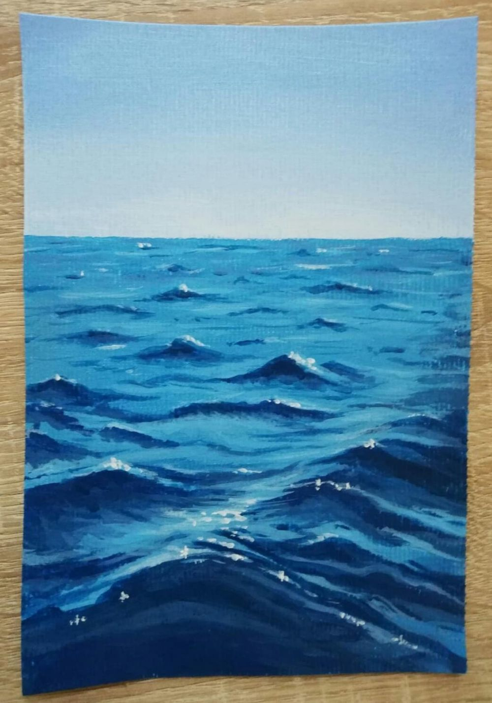 Ocean waves - image 1 - student project