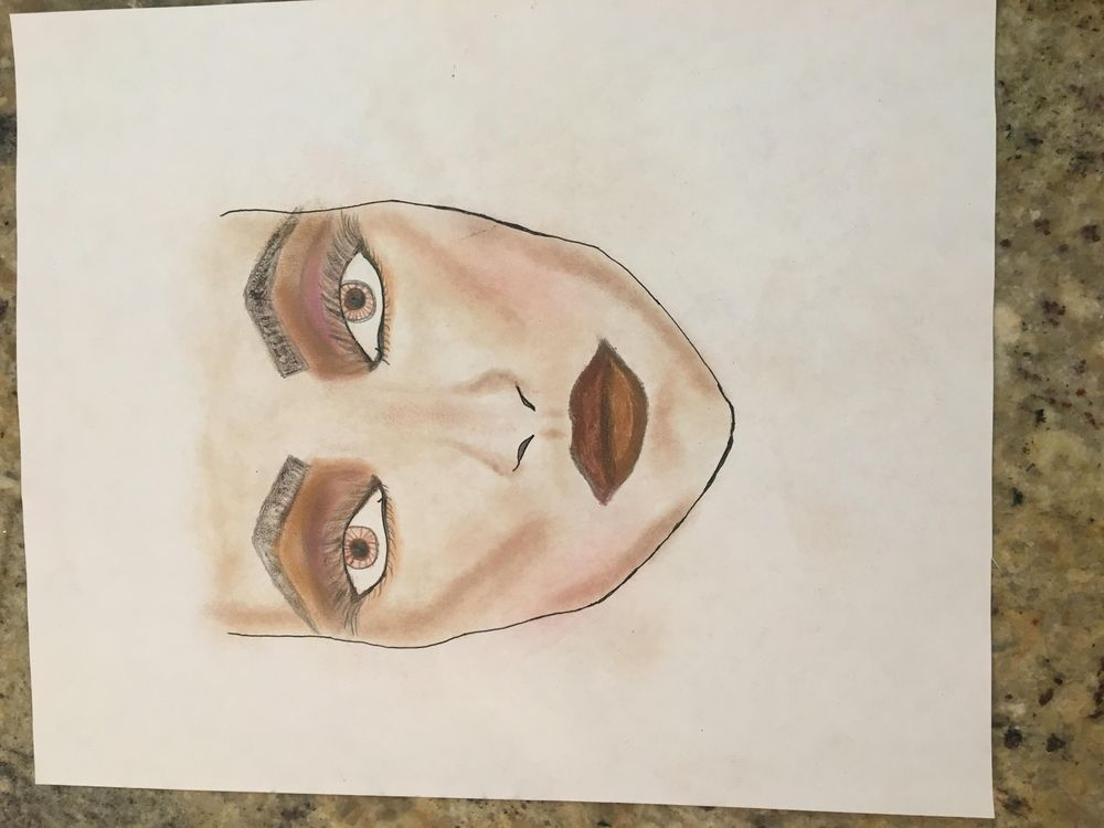 Contoured Face with Evening Makeover!!! - image 1 - student project