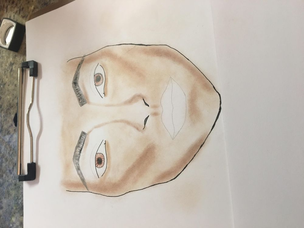 Contoured Face with Evening Makeover!!! - image 2 - student project