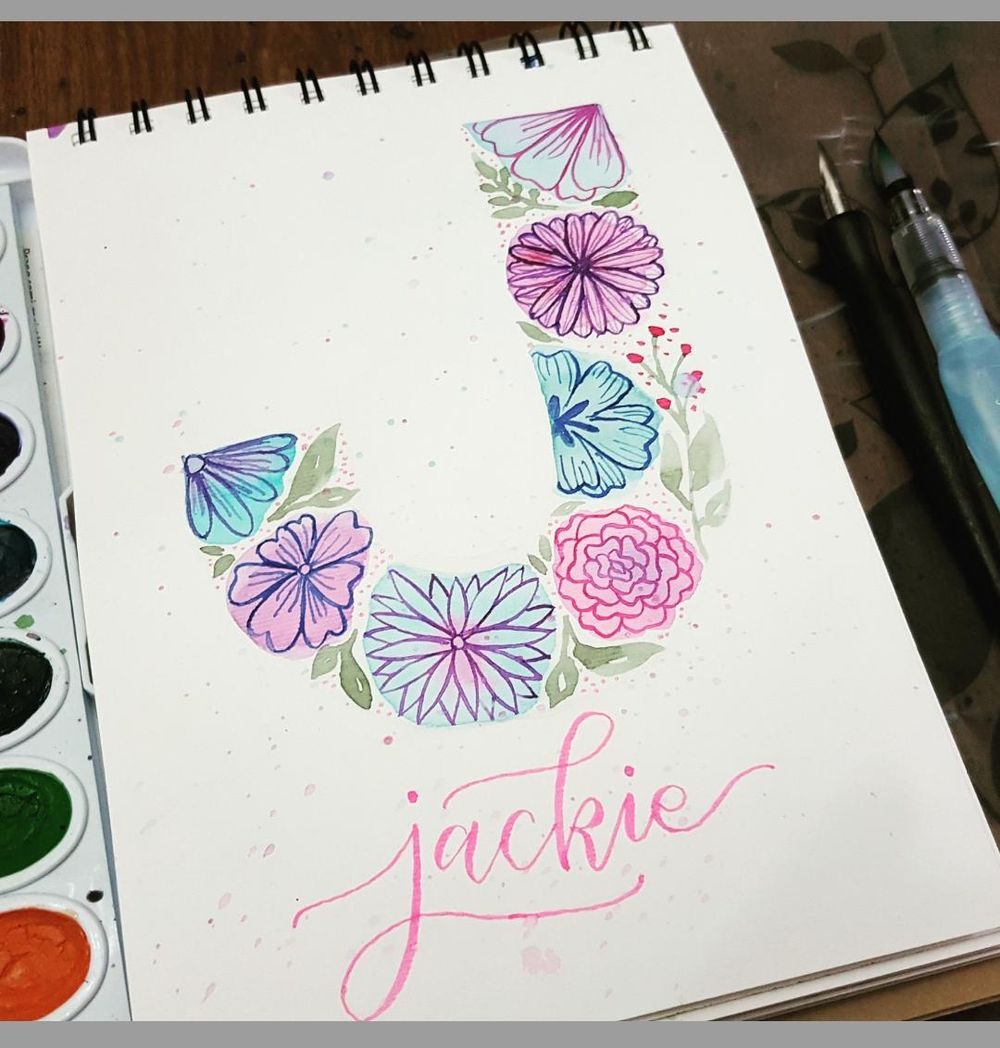 Letter J - image 1 - student project