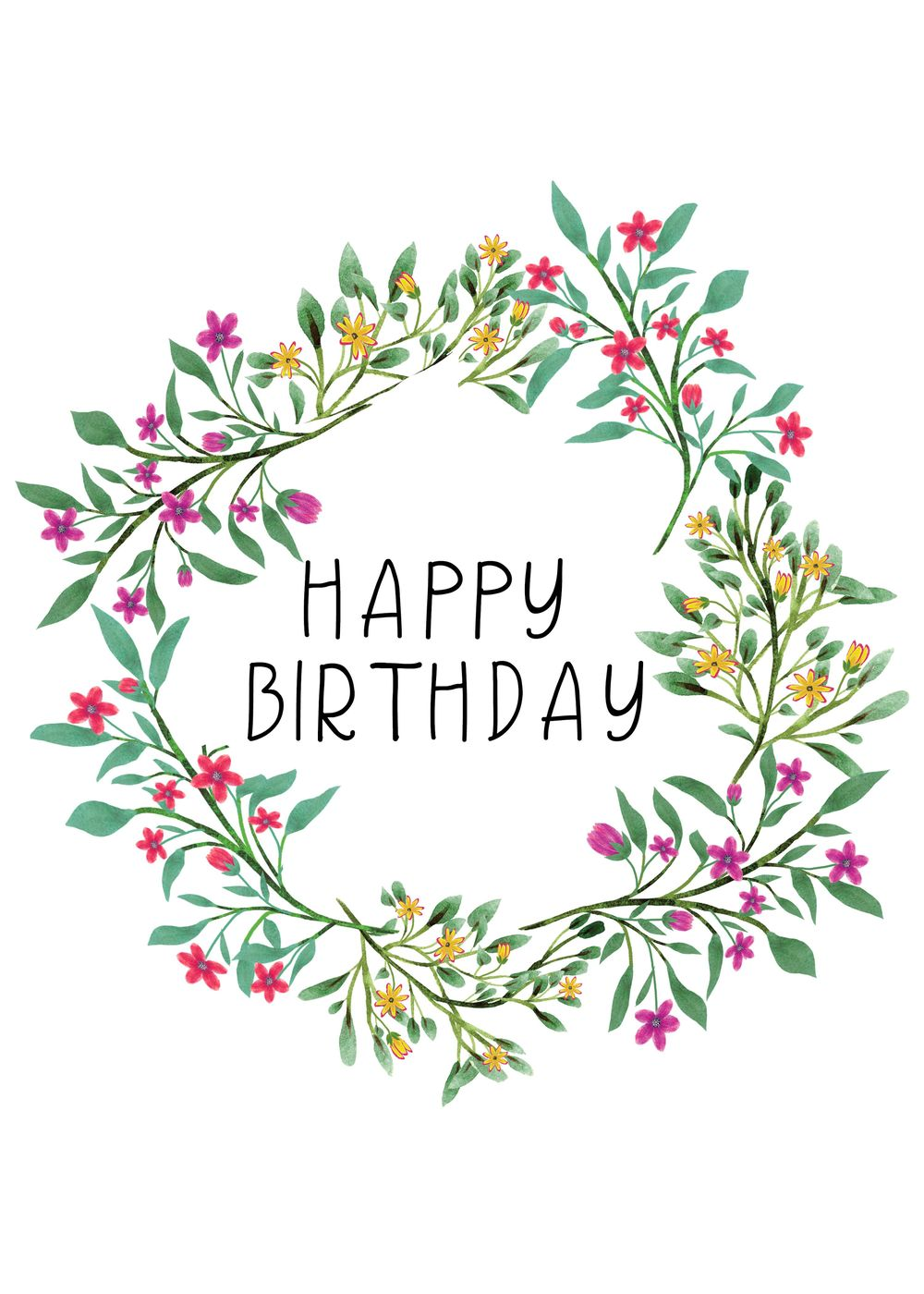 Birthday card - image 1 - student project