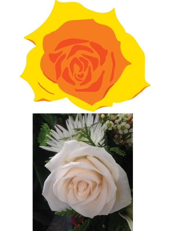 Stylized rose - image 1 - student project