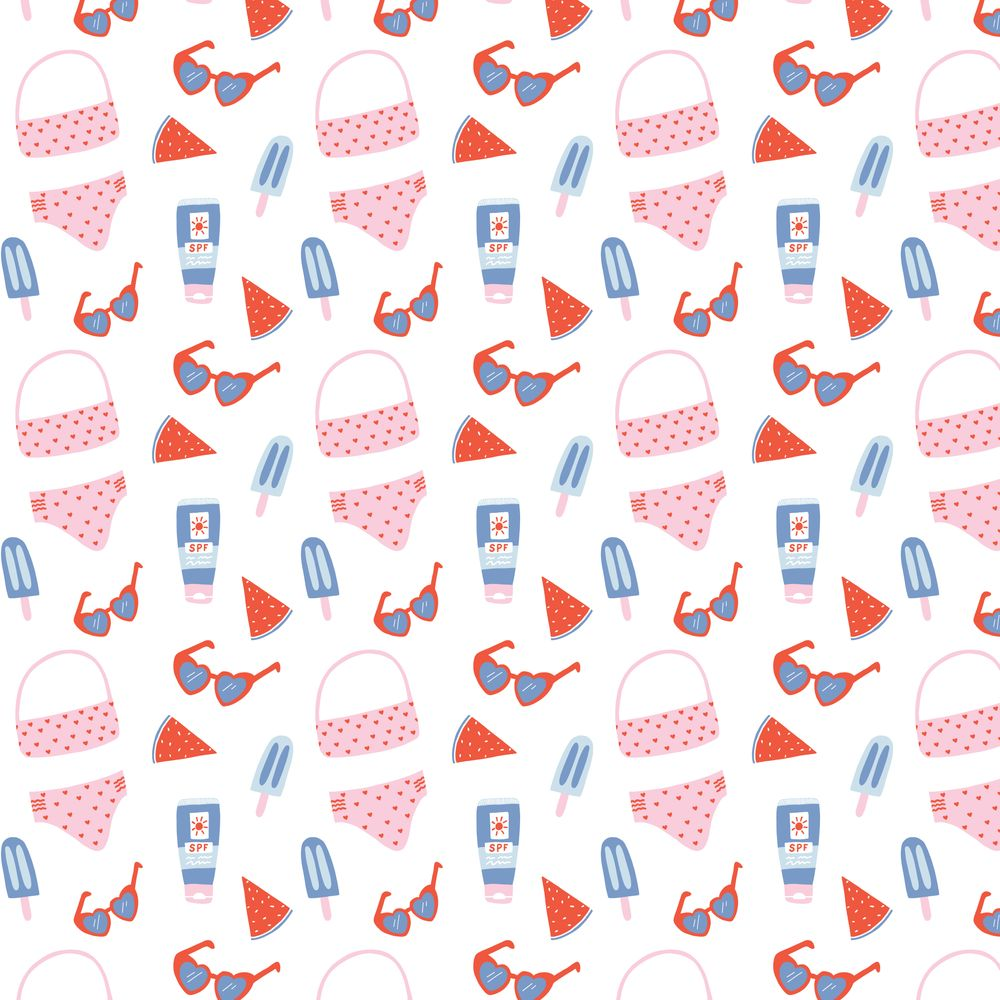Summer Surface Pattern - image 2 - student project
