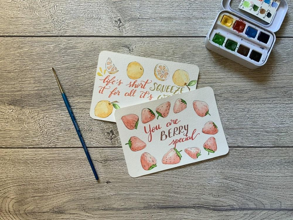 Fruity cards - image 1 - student project
