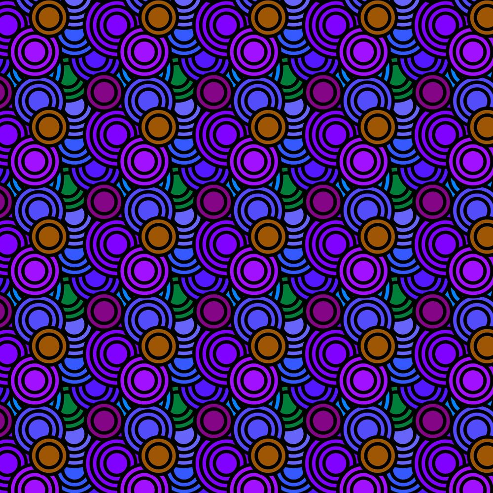 Circles Patterns - image 4 - student project