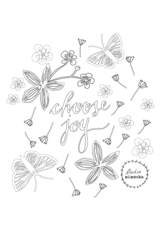 Studio Ninocka - Coloring Page - image 11 - student project