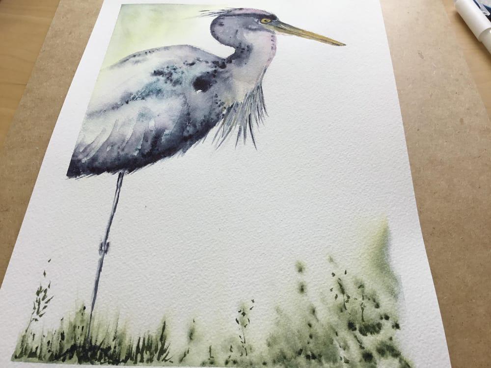 Vivid heron - image 10 - student project