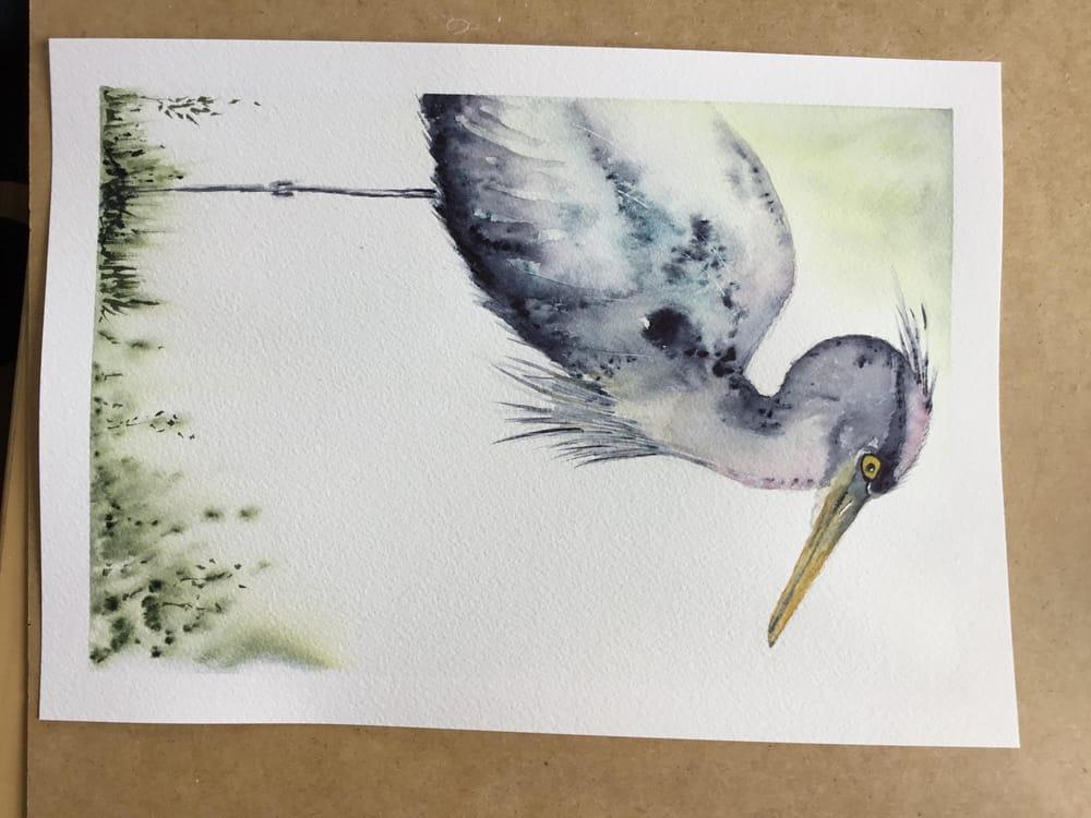 Vivid heron - image 7 - student project