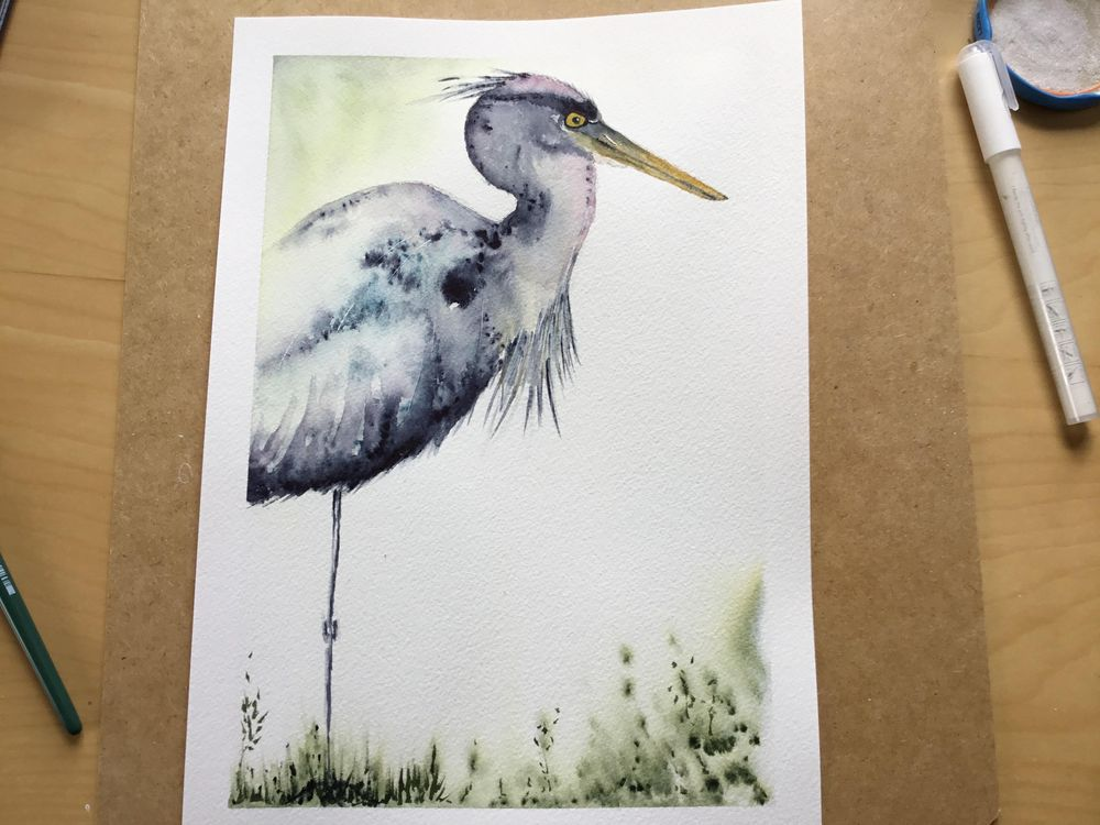 Vivid heron - image 8 - student project