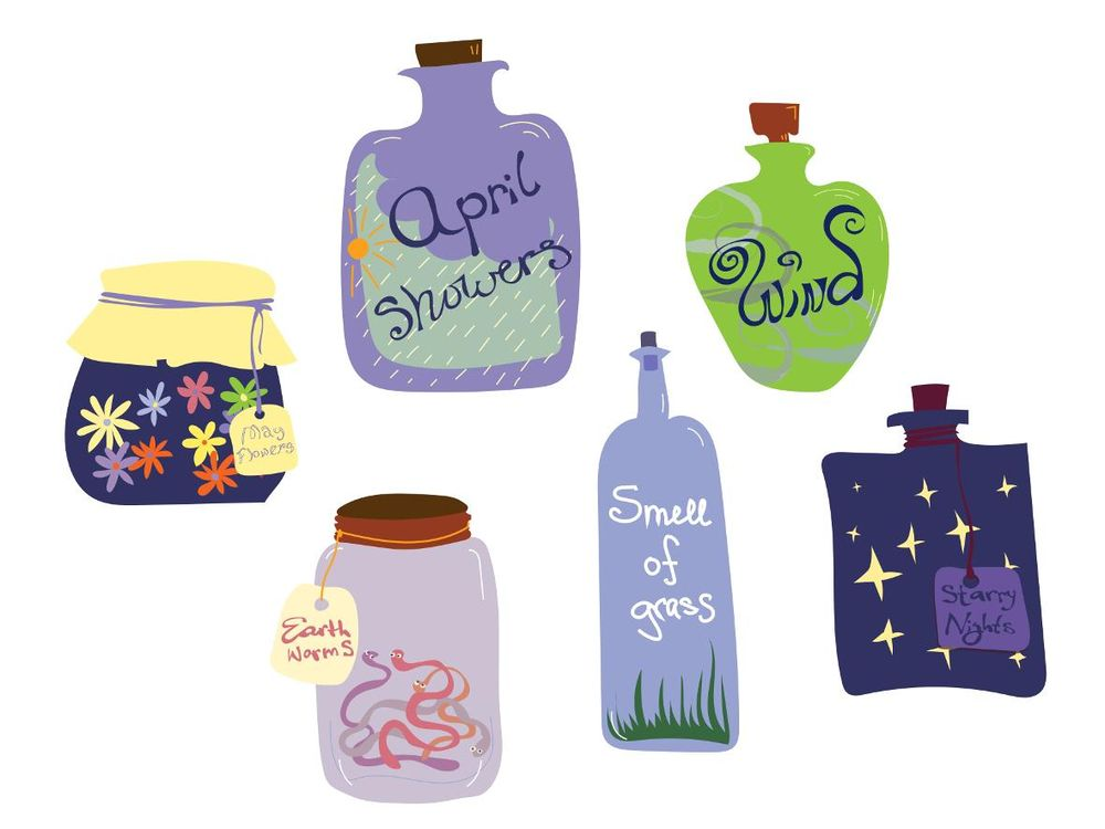 Spring potions/components of spring - image 1 - student project