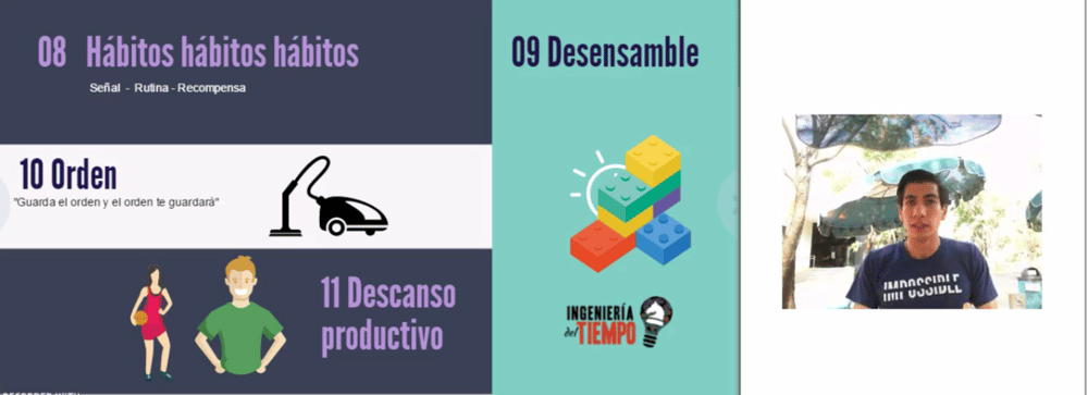 The Engineering of Time: How to Double you Productivity without losing your Life (Course in Spanish) - image 1 - student project