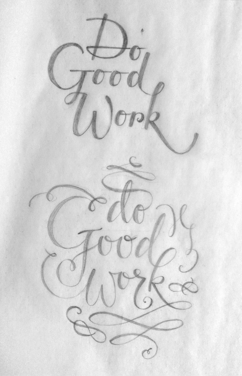 Do Good Work - Vectorized - image 5 - student project