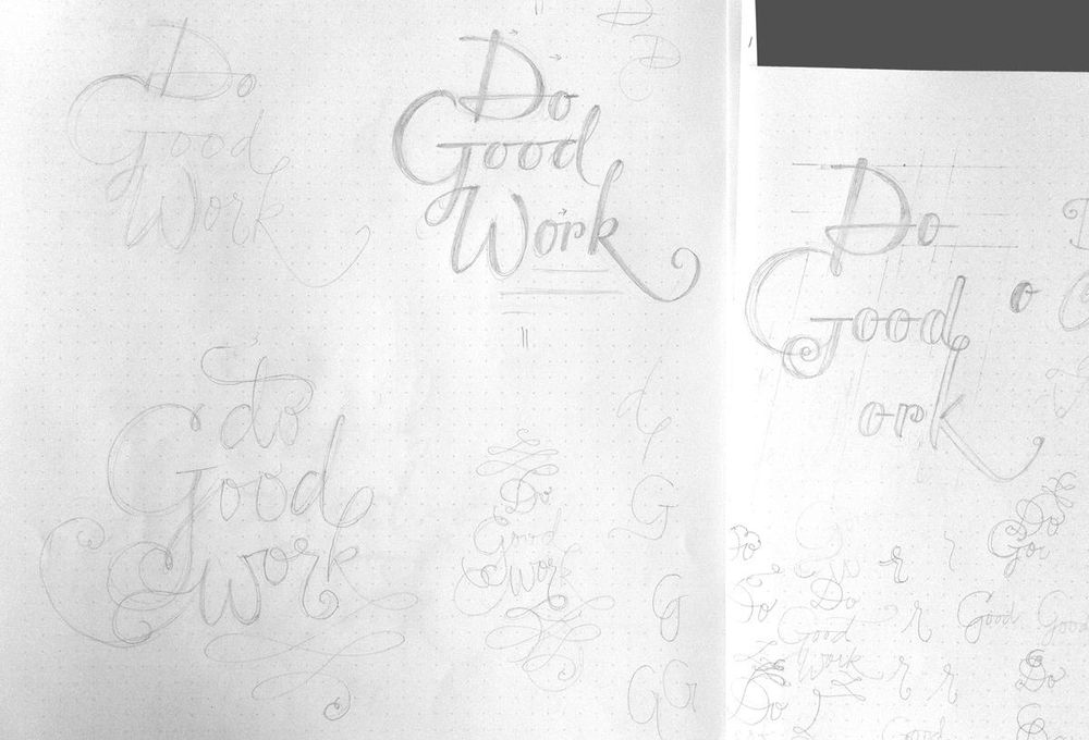 Do Good Work - Vectorized - image 6 - student project