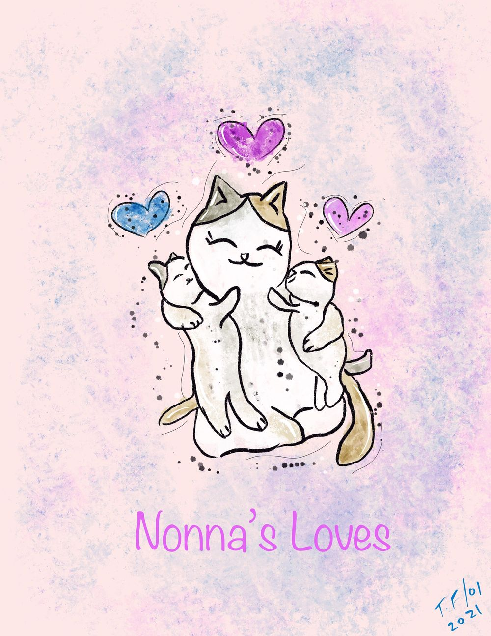 Cute kitty love - image 1 - student project