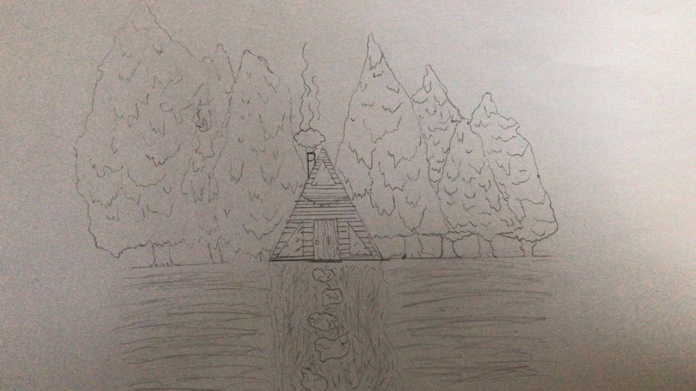 A Frame Log Cabin - image 2 - student project
