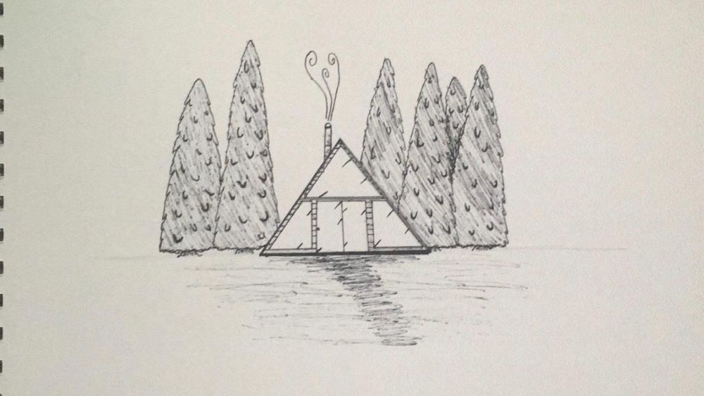 A Frame Log Cabin - image 1 - student project