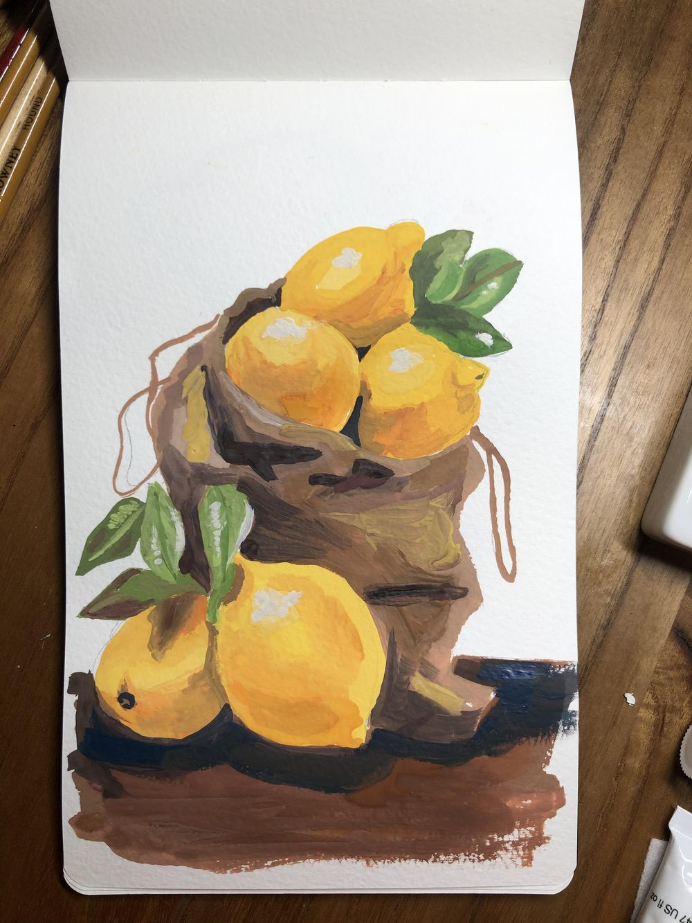 Gouache still life - image 3 - student project