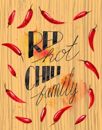 Red Hot Chili Family - image 7 - student project