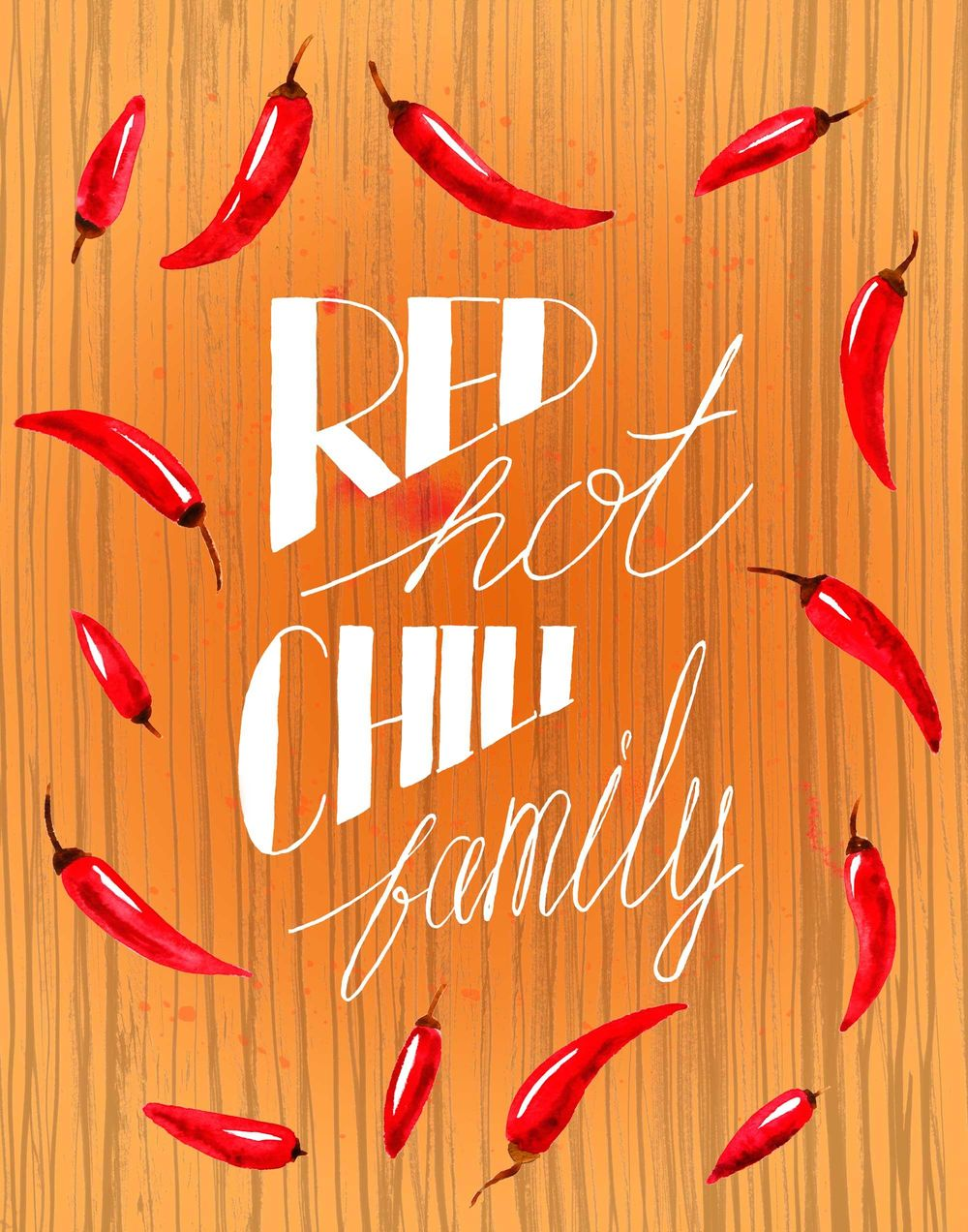 Red Hot Chili Family - image 9 - student project