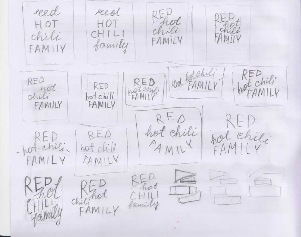 Red Hot Chili Family - image 2 - student project