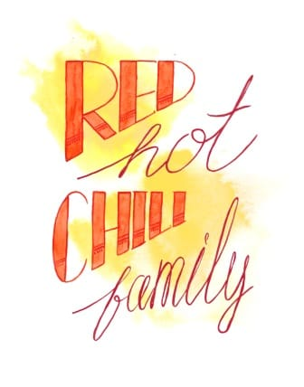 Red Hot Chili Family - image 6 - student project