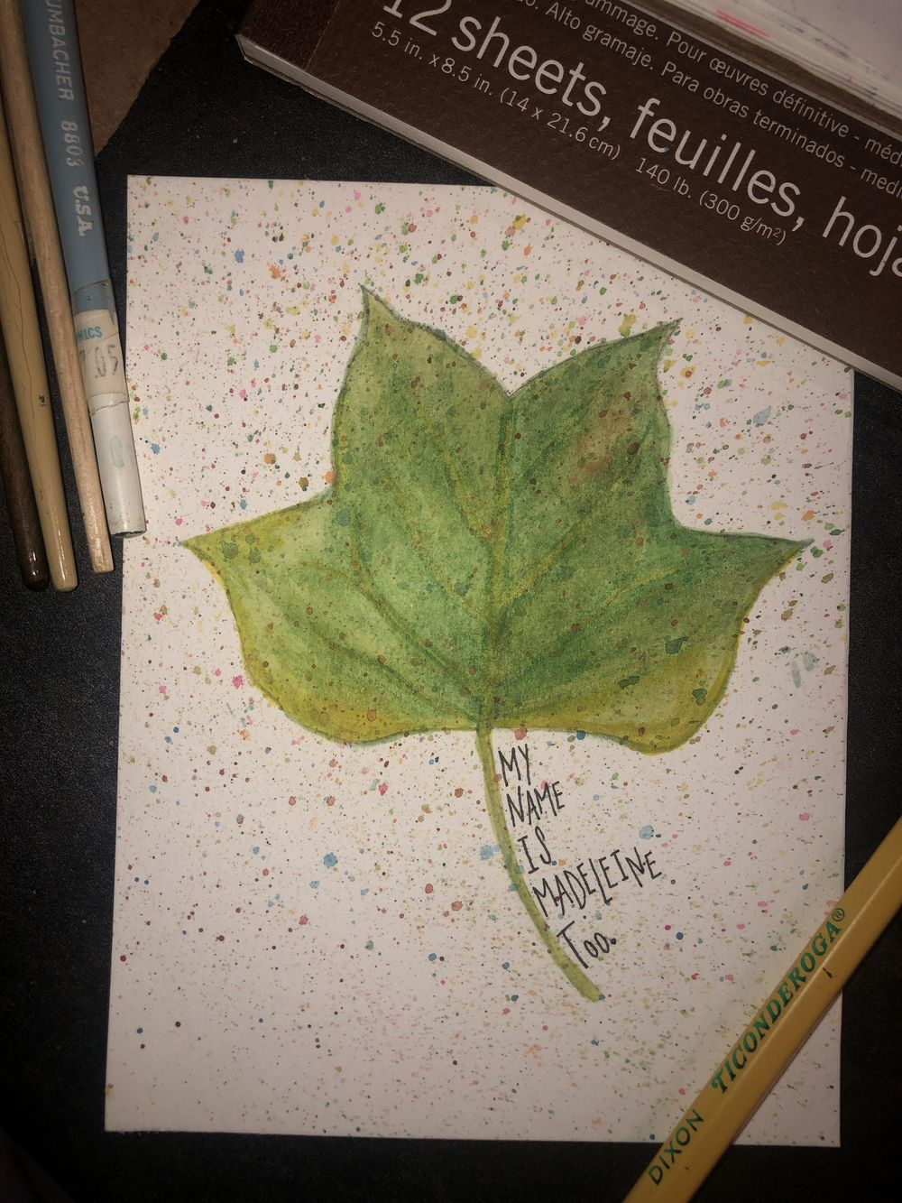 loose leaves - image 2 - student project