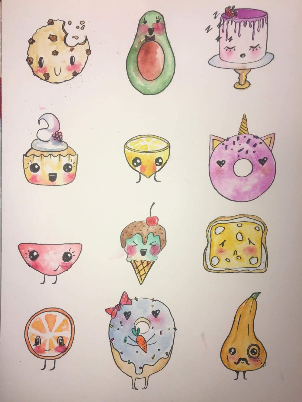 Cutie foodie - image 1 - student project