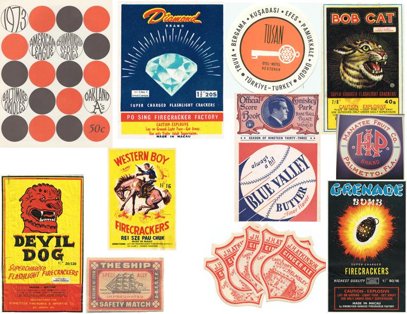 Firework Label Design - image 1 - student project