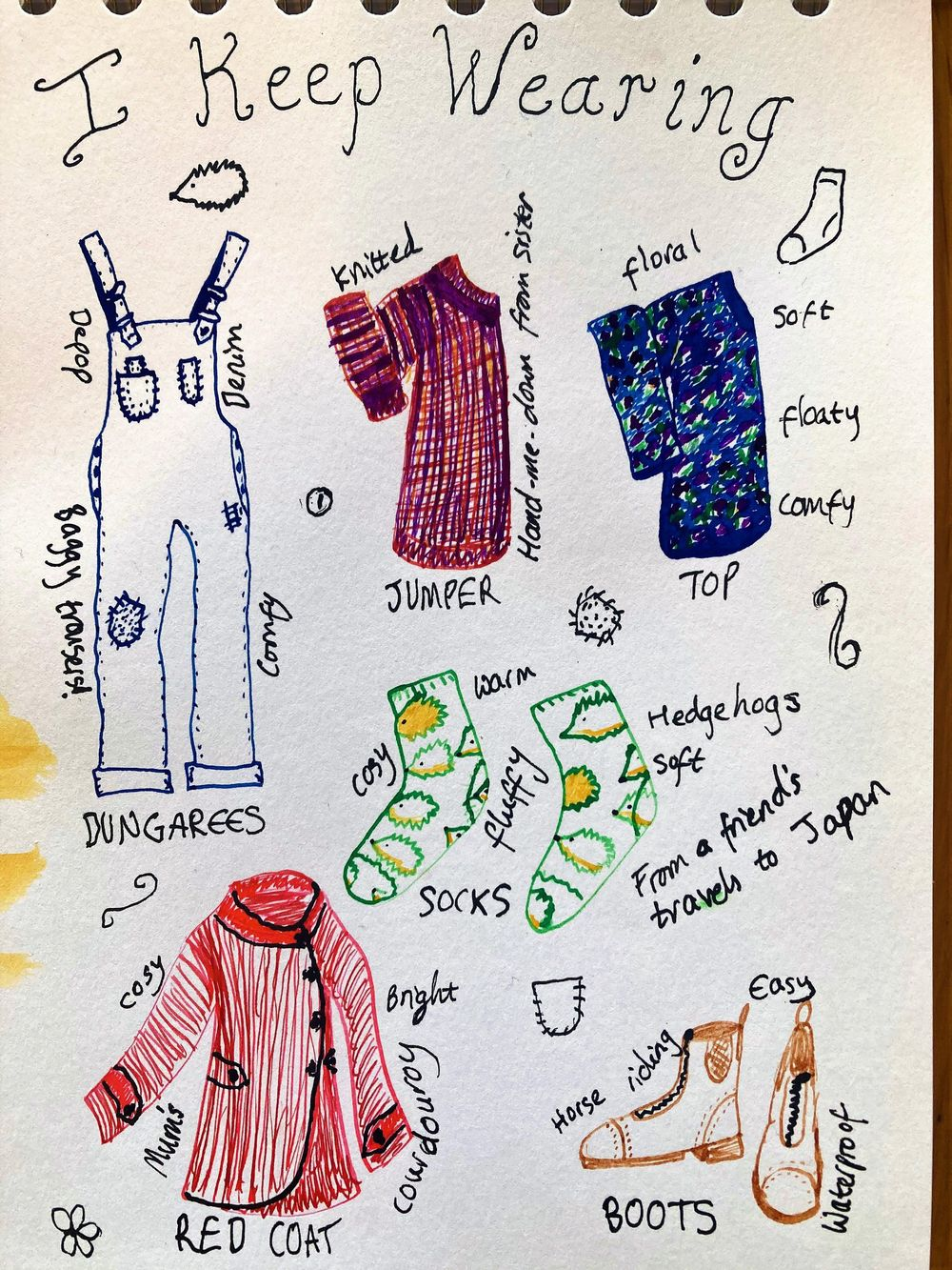 Illustrated Journalling - image 8 - student project
