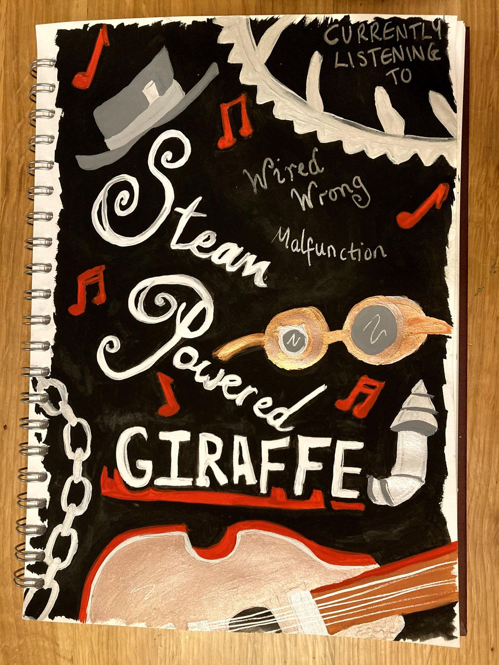 Illustrated Journalling - image 1 - student project