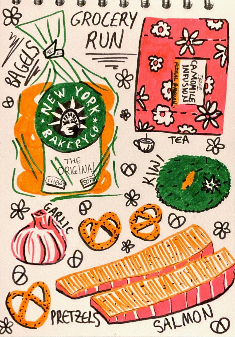 Illustrated Journalling - image 10 - student project