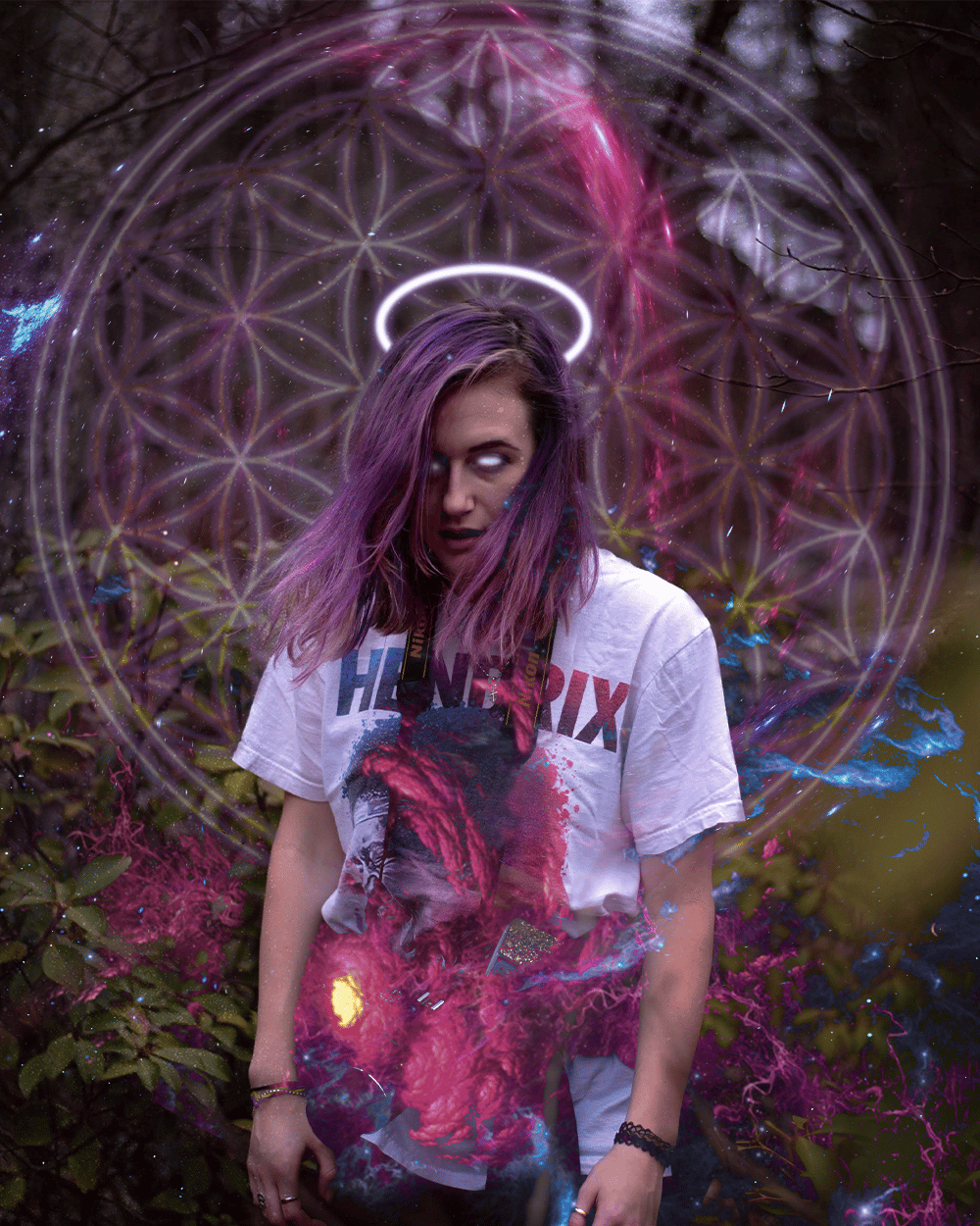 Cosmic Angel - image 1 - student project