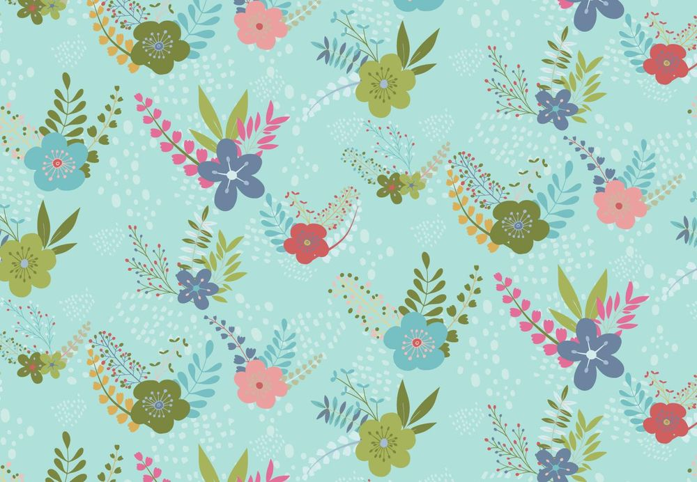 Floral and Butterfly Patterns - image 2 - student project