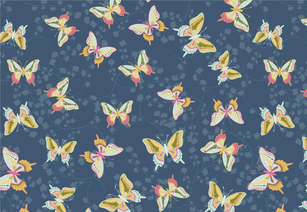 Floral and Butterfly Patterns - image 1 - student project