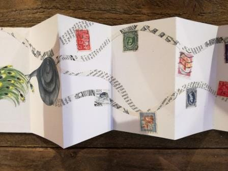 Accordion Folded Story Book - image 2 - student project