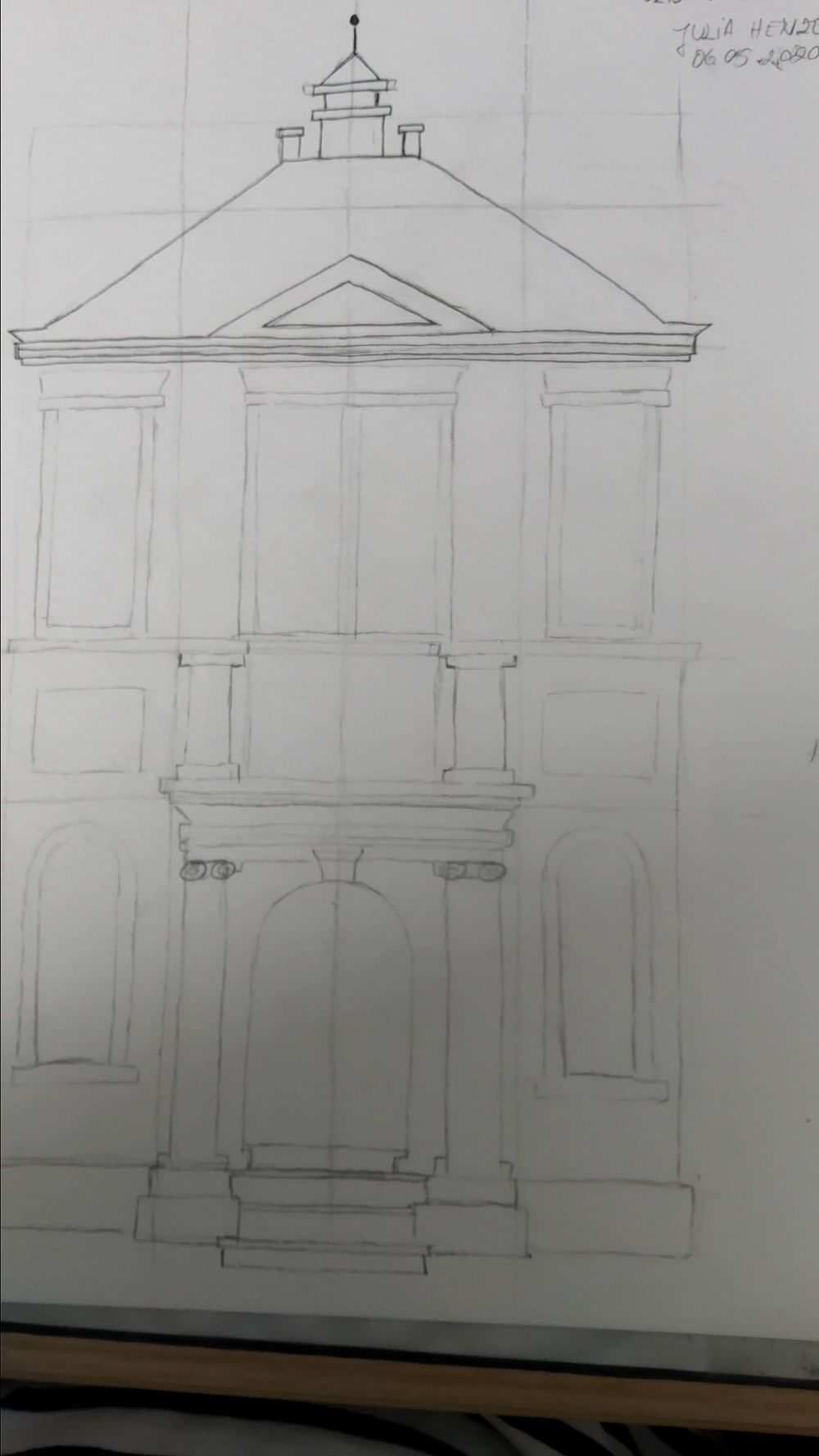 Urban Sketching - image 2 - student project