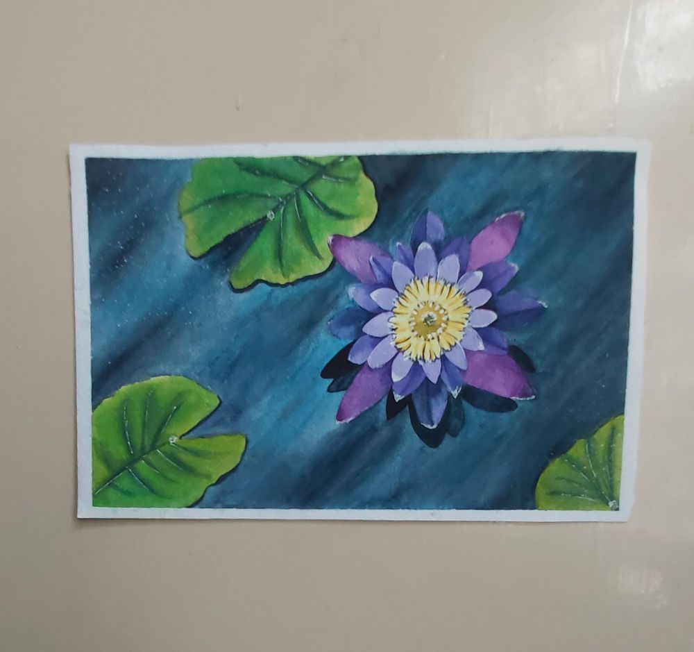 Pink & Purple Flowers - image 4 - student project