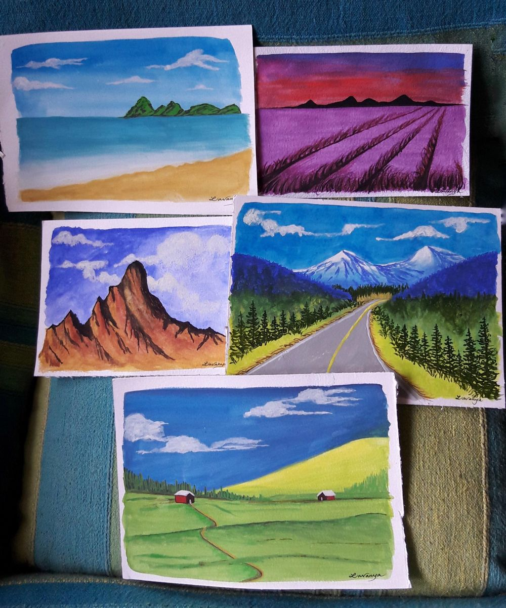 Gouache Goodness - image 1 - student project