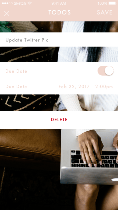 HERLST App - image 6 - student project