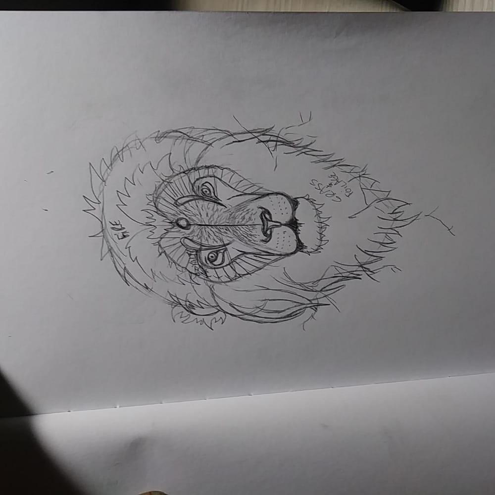 Stylized Lion Part 1 - image 2 - student project